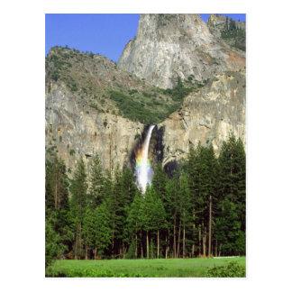 Cascada en el parque nacional de Yosemite, Postal