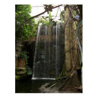 Cascada en el parque zoológico postal