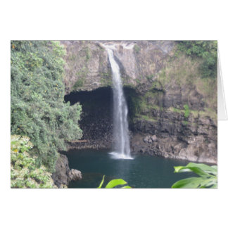 Cascada hawaiana tarjetón