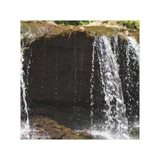 Cascada Impresión En Lienzo