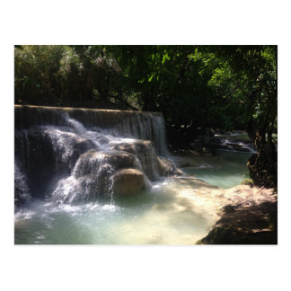 Cascadas de Kuang Si Postal