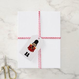 Cascanueces - etiquetas del regalo