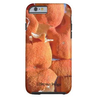 Cáscara de la fruta cítrica funda resistente iPhone 6