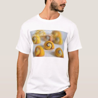 cáscaras del caracol camiseta