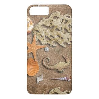 Cáscaras del mar del caso de Iphone Funda iPhone 7 Plus