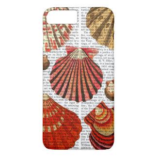 Cáscaras rojas de la almeja funda iPhone 7 plus