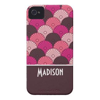 Cáscaras rosadas lindas iPhone 4 cárcasa
