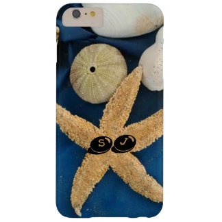 Cáscaras y pilluelos del mar con sus iniciales - funda barely there iPhone 6 plus