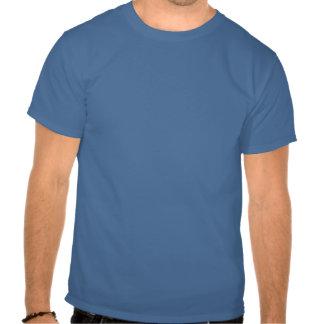 Casco cruzado satánico camiseta