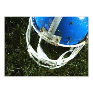 Casco de fútbol americano invitación 12,7 x 17,8 cm