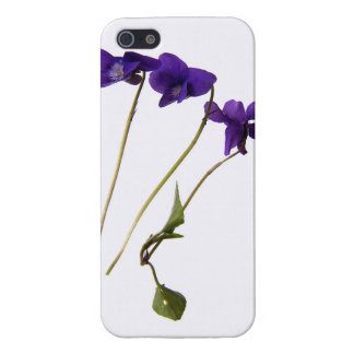 casco iphone 6 Violetas iPhone 5 Funda