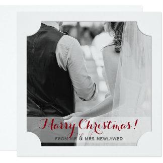Case el navidad de la tarjeta de la foto del día