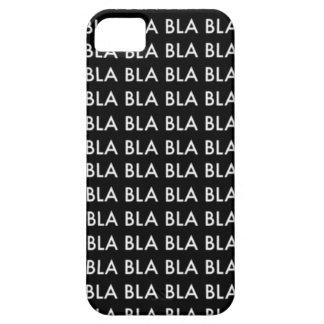 "CASE iPhone 5 ""Blah blah blah BLA "" Funda Para iPhone SE/5/5s"