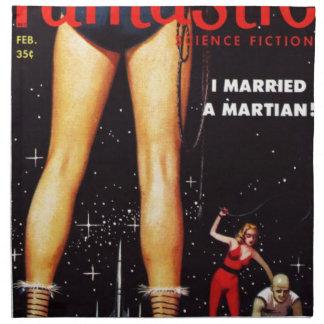 Casé un Martian Servilleta De Tela