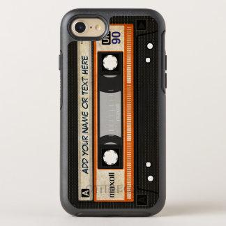 Casete audio pasado de moda retro de 80s Mixtape Funda OtterBox Symmetry Para iPhone 7