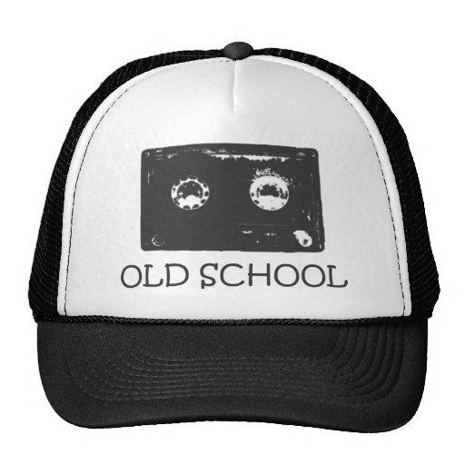 ¡Casete de la escuela vieja! Gorras De Camionero