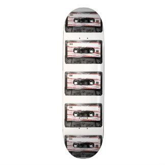 Casete de la etiqueta del tocino tabla de skate