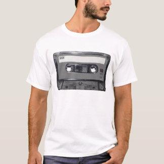 Casete del vintage de los años 80 de B&W Camiseta