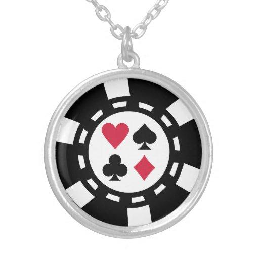 Casino de las fichas de póker pendientes