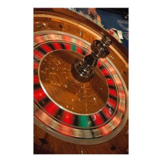 Casino Las Vegas del dinero del juego de la ruleta Papeleria De Diseño
