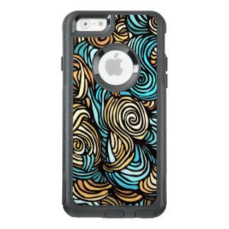 Caso a mano de Otterbox del iPhone del remolino Funda Otterbox Para iPhone 6/6s