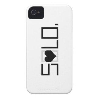 CASO A SOLAS del iPHONE 4/4S iPhone 4 Case-Mate Fundas