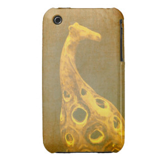 Caso abstracto de la jirafa iPhone3G iPhone 3 Case-Mate Protectores