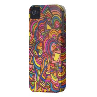 ¡Caso ABSTRACTO del iPHONE! Carcasa Para iPhone 4