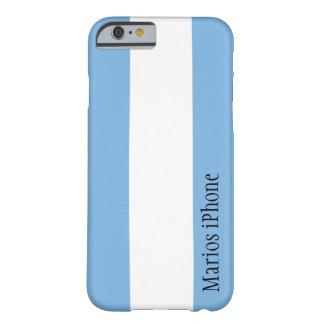 Caso adaptable del iPhone 6 de la bandera de la Funda De iPhone 6 Barely There