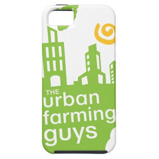 Caso agrícola urbano del iphone 5 de los individuo iPhone 5 Case-Mate fundas