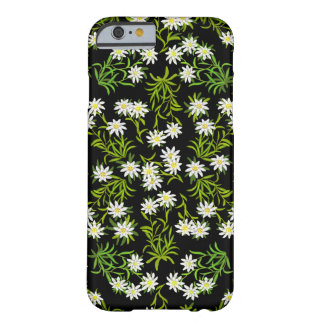 Caso alpino del iPhone 6 de las flores de Funda De iPhone 6 Barely There