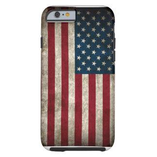 Caso americano del iPhone 6 de la bandera de los Funda De iPhone 6 Tough