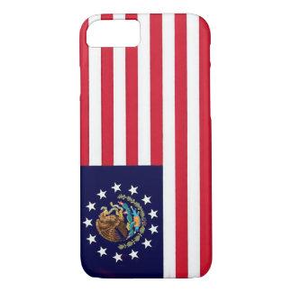Caso americano del iPhone 7 de la bandera mexicana Funda iPhone 7