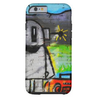 caso androide de la música de la pintada del caso funda de iPhone 6 tough