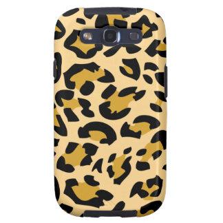 Caso animal del leopardo S3 de la piel Samsung Galaxy S3 Cárcasa