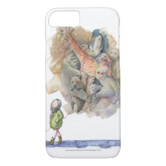 Caso animal del parque zoológico para el iPhone 7 Funda iPhone 7