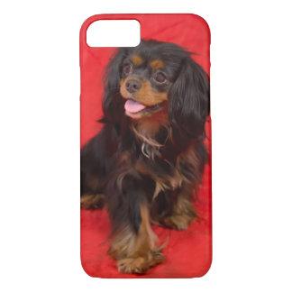 Caso arrogante del iphone de rey Charles Puppy del Funda iPhone 7