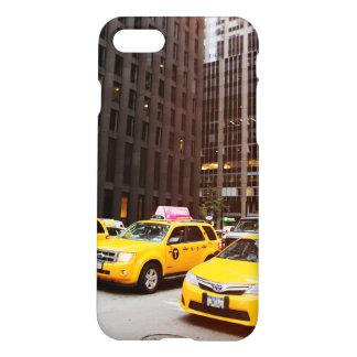 Caso brillante del final del iPhone 7 del taxi de Funda Para iPhone 7