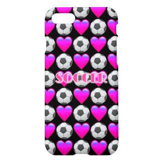 Caso brillante del iPhone 7 rosados de Emoji del Funda Para iPhone 7
