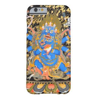 Caso budista tibetano del iPhone 6 del arte Funda Barely There iPhone 6