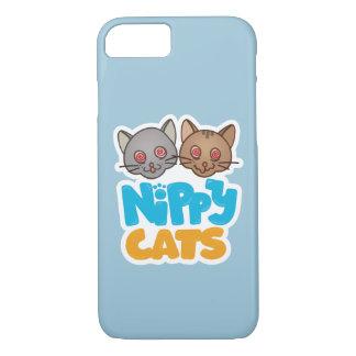 Caso cáustico del iPhone 7 de los gatos Funda iPhone 7