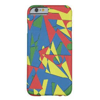 ¡Caso celular abstracto de la diversión! ¡Guau! Funda Barely There iPhone 6