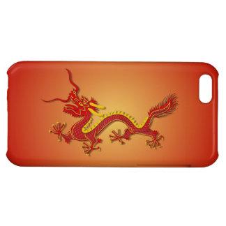 Caso chino del iPhone 5 del Año Nuevo del dragón d