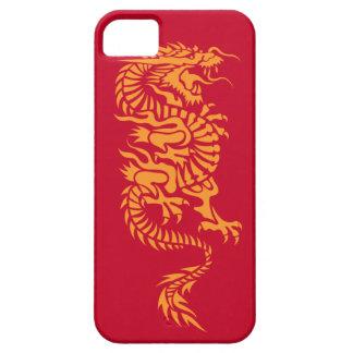 Caso chino del iPhone 5 del dragón iPhone 5 Case-Mate Fundas