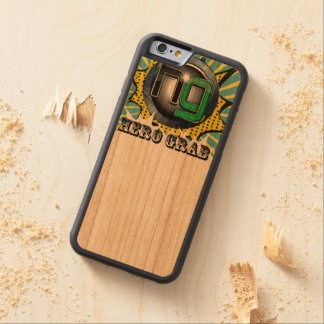 Caso cómico de madera de Iphone del logotipo de la Funda De iPhone 6 Bumper Cerezo
