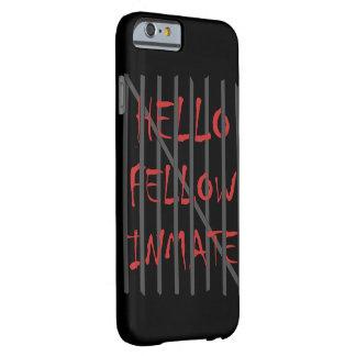 Caso compañero de Iphone del interno de Hellow Funda Barely There iPhone 6