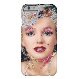 Caso con lentejuelas de Marilyn IPhone 6 Funda Barely There iPhone 6
