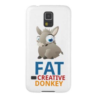 Caso creativo gordo de la galaxia S5 de Samsung Funda Galaxy S5