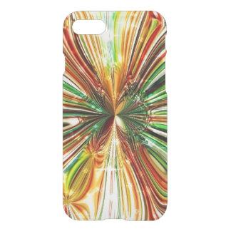 Caso cristalino cósmico del iPhone de la flor Funda Para iPhone 7