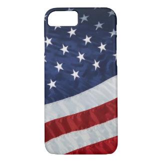 Caso de Barely There del iPhone 7 de la bandera de Funda Para iPhone 8/7